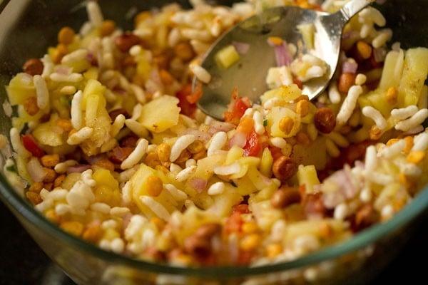 mix raw mango bhel