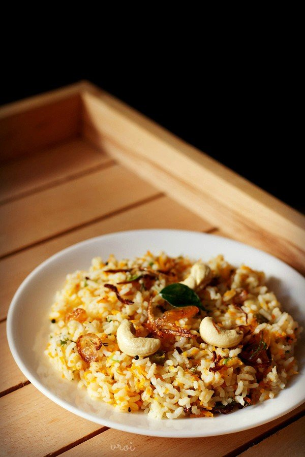 carrot rice recipe, carrot rice