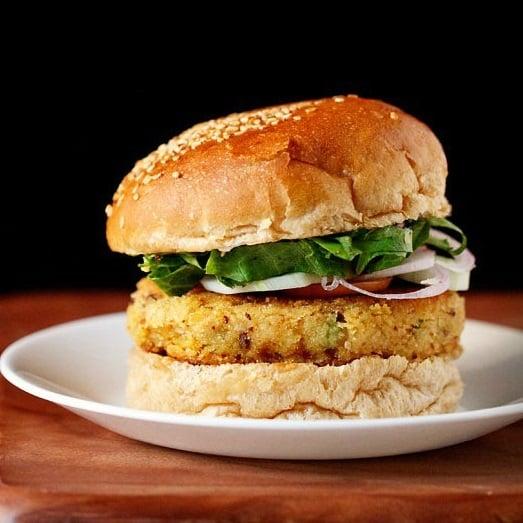 veg burger recipe, veggie burger recipe