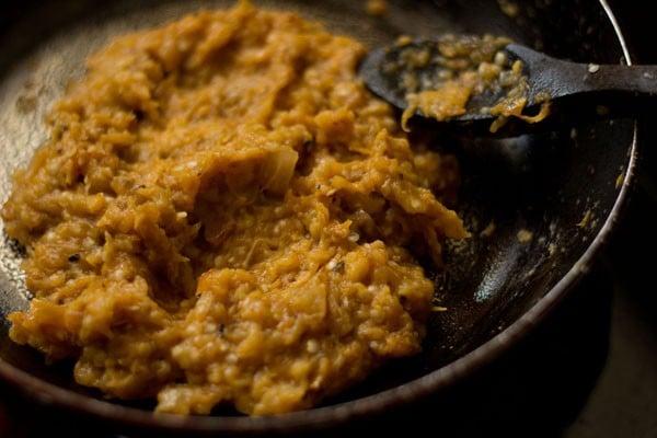 making baigan chutney recipe