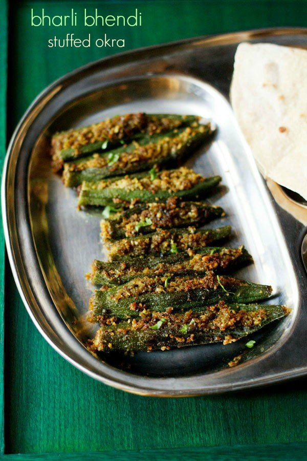Maharashtrian recipes collection of 72 veg maharashtrian recipes bharli bhendi recipe maharashtrian style bharli bhendi recipe forumfinder Gallery