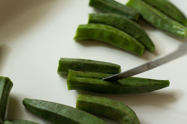 bhindi for bharli bhendi recipe