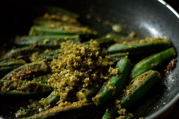 masala for bharli bhendi recipe