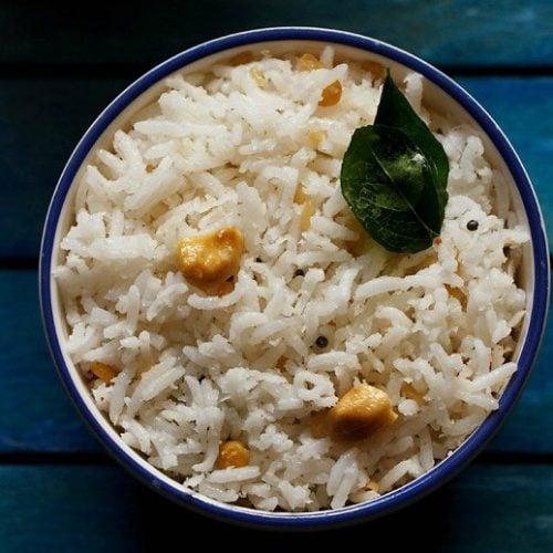 coconut rice recipe, thengai sadam recipe