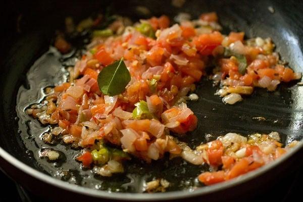 tomatoes for dahi aloo recipe