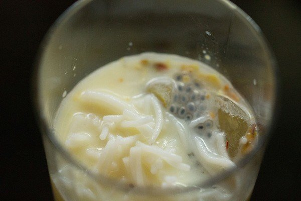 making kesar pista falooda recipe