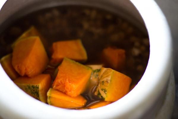 making lobia sambar recipe