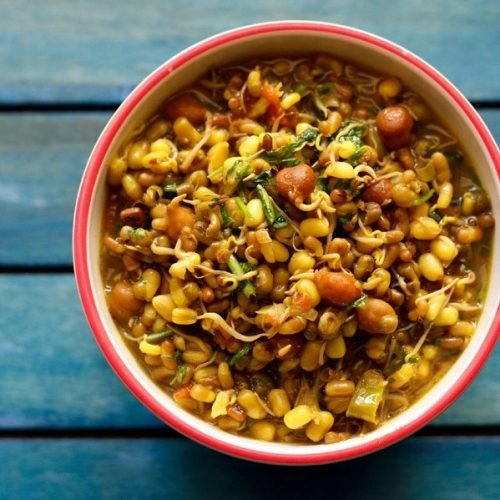 sprouts curry recipe | mixed sprouts recipe