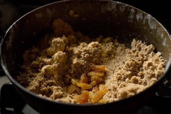 making panjiri recipe
