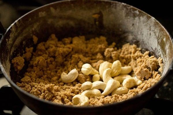 cashews for panjiri recipe