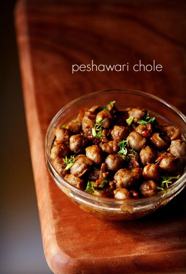 peshawari chole recipe