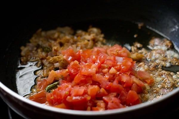 tomatoes for peshawari chole recipe