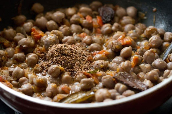 pomegranate powder for peshawari chole recipe