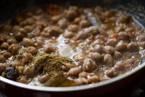 garam masala for peshawari chole recipe