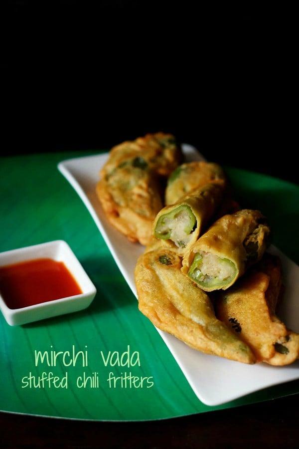 mirchi vada, rajasthani mirchi vada recipe