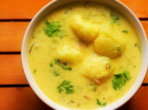 punjabi dahi aloo recipe