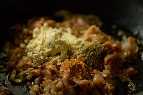 besan for shahi bhindi recipe