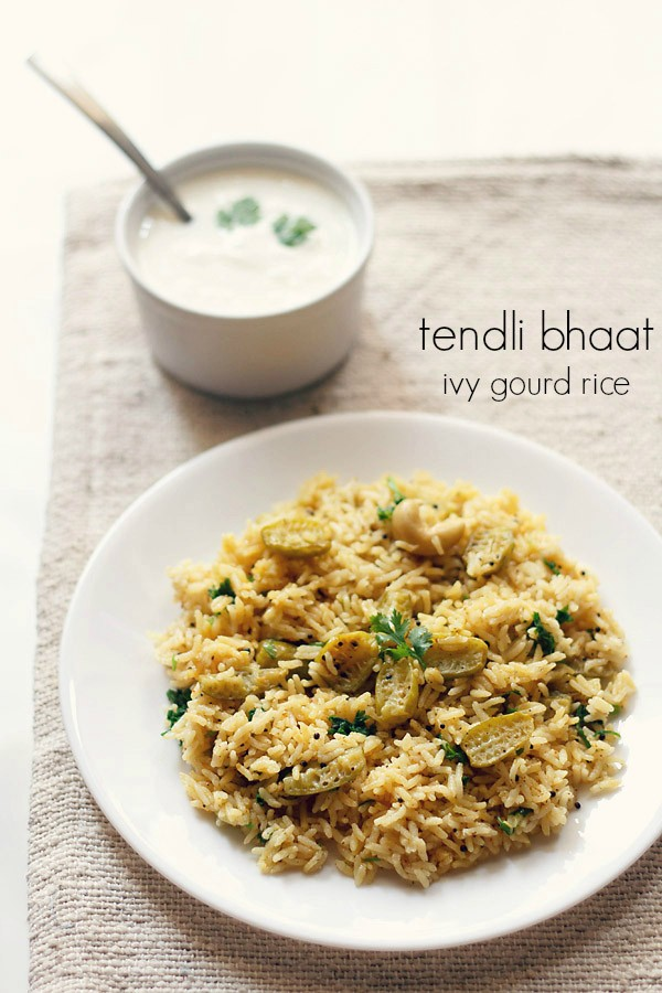 tendli bhaat recipe