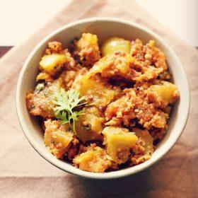 tomato bhaji recipe, tomato sabzi recipe