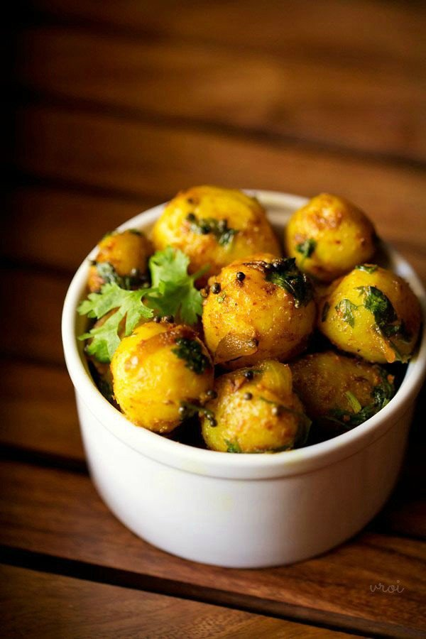 baby potato fry, baby potato fry recipe
