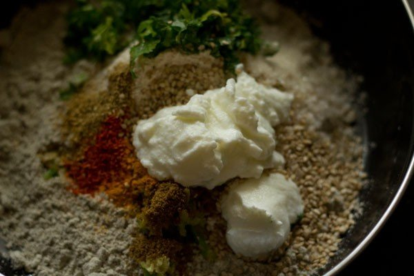 curd for bajra vada recipe