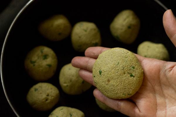 bajra vada dough