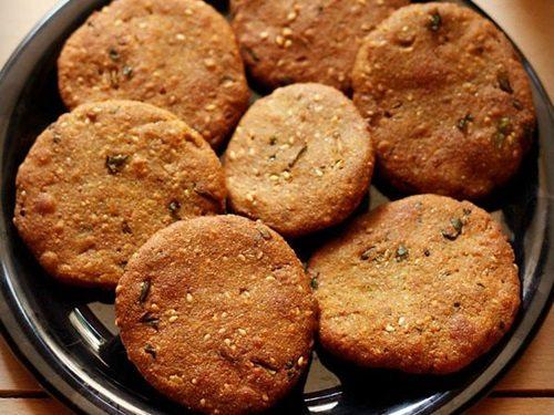 Gujarat bajri vada recipe
