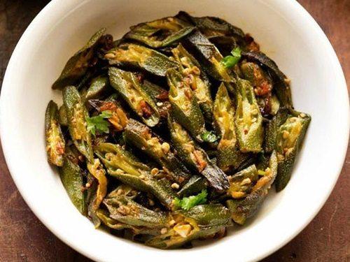punjabi bhindi fry recipe