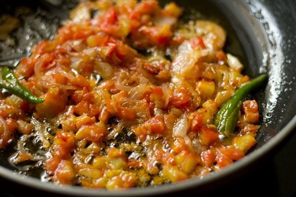 stir bhindi fry masala