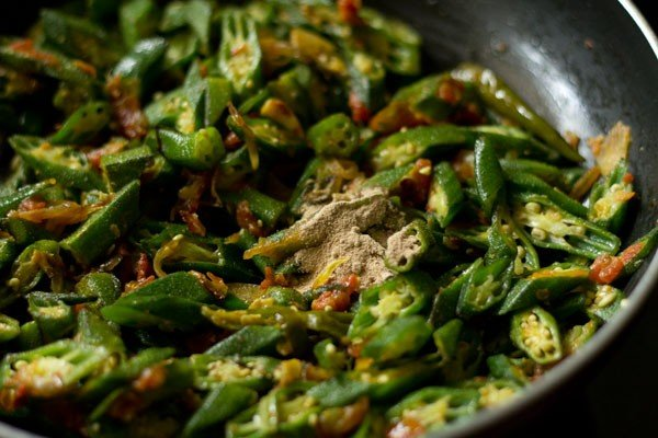 amchur for bhindi fry recipe
