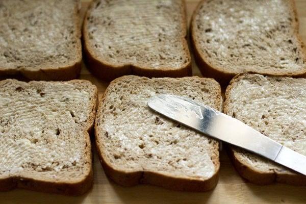 butter for capsicum toast sandwich recipe