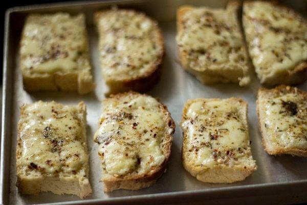 baking cheese garlic bread recipe