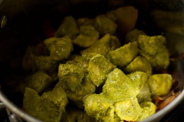 mushrooms for chettinad biryani recipe