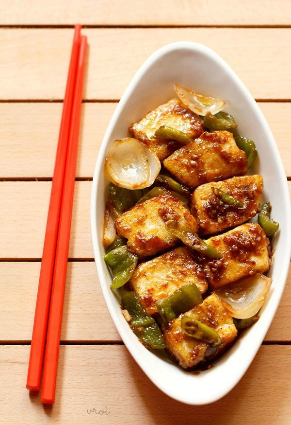 Image result for Chilli Paneer Recipe