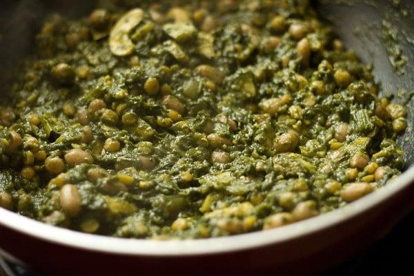 making alu chi patal bhaji recipe