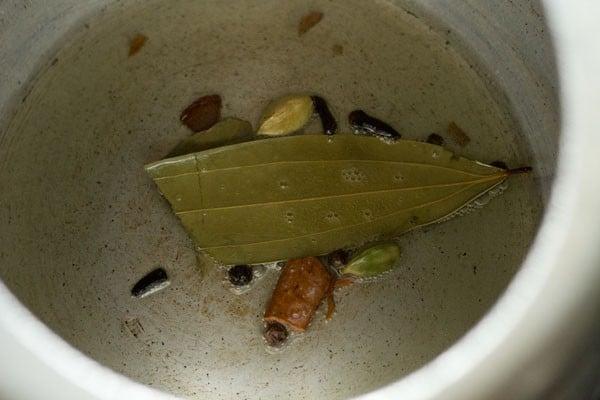 spices for coriander rice recipe
