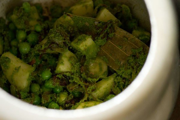 potato for coriander rice recipe