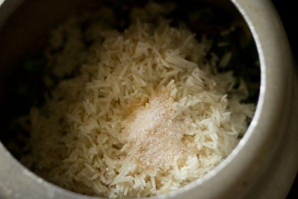 rice for coriander rice recipe