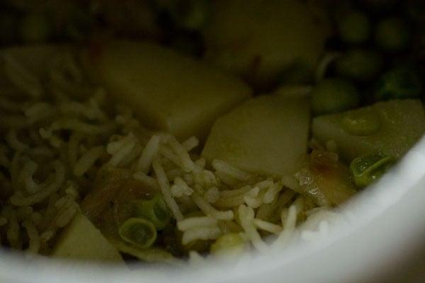 coriander rice recipe, cilantro rice recipe