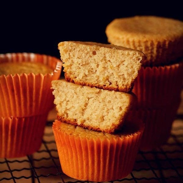 eggless lemon muffins recipe