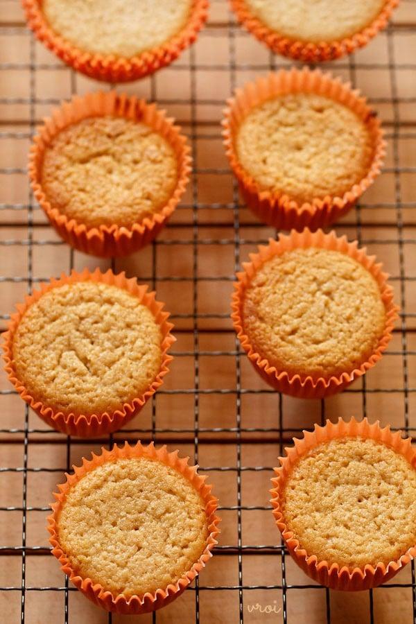 eggless vegan lemon muffins