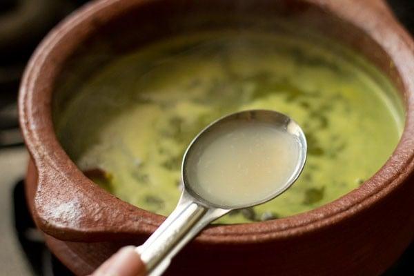 making lemon rasam recipe