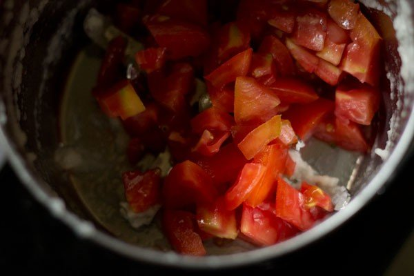 tomatoes for mushroom curry recipe