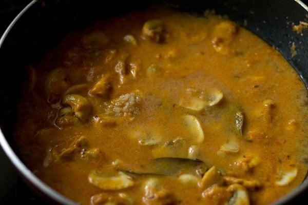salt for mushroom masala recipe