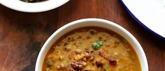 green moong dal recipe | green gram curry recipe | sabut moong dal