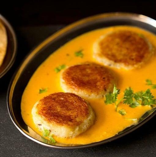 aloo kofta recipe, potato kofta gravy recipe, potato cheese kofta recipe