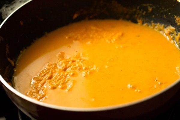 water for aloo kofta gravy recipe