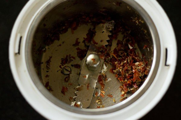 ground rasam spice mix