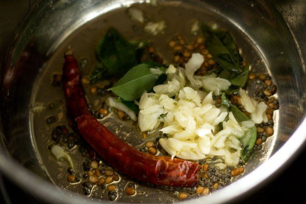 garlic for garlic rasam recipe