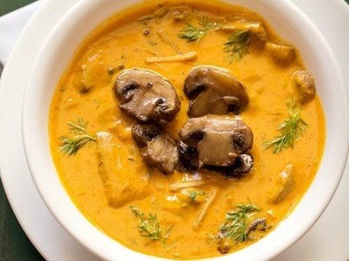 mushroom makhni recipe